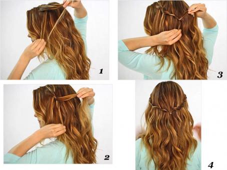 Como Hacer Peinados Recogidos Faciles Paso A Paso Tips De Maquillaje