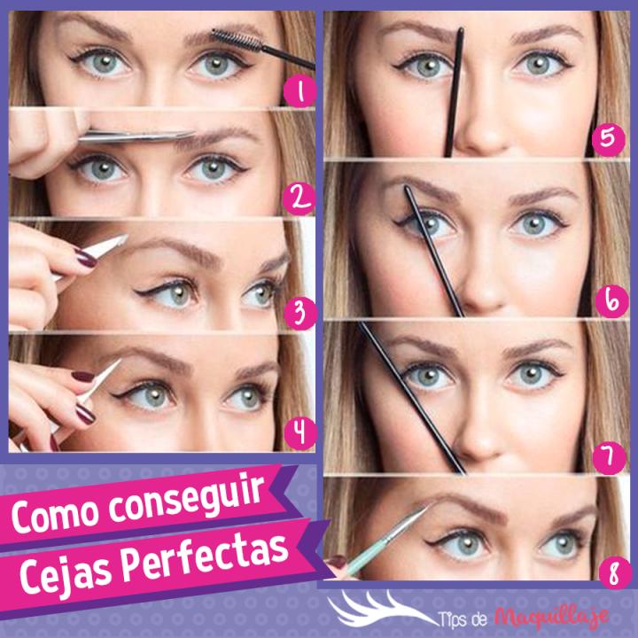 Cómo maquillar mis cejas fácilmente