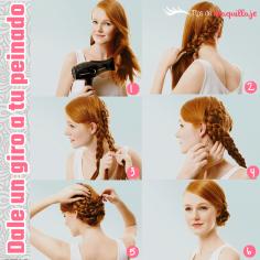 Paso a paso: Dale un giro a tu peinado