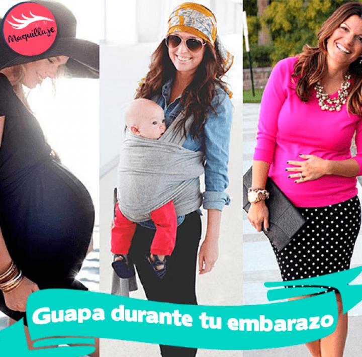 Luce más guapa durante tu embarazo con estos Tips!