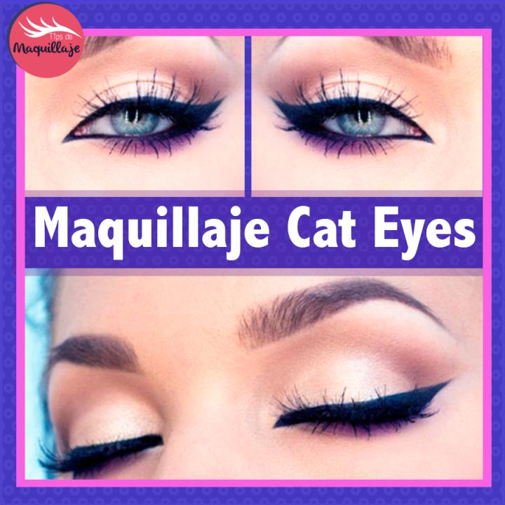 Maquillaje de ojos Cat Eyes