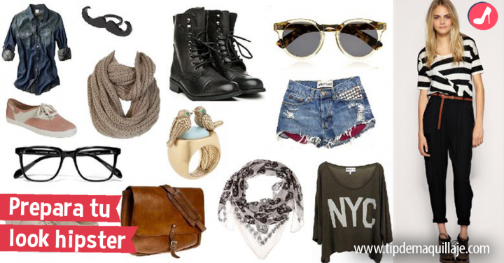 Cómo lograr un look hipster y no fallar en el intento
