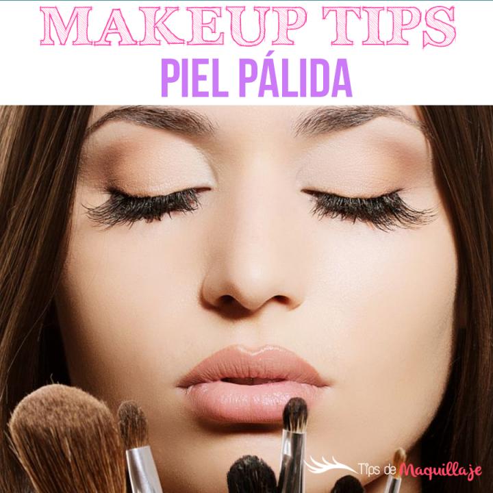 Make up Tricks' para pieles pálidas