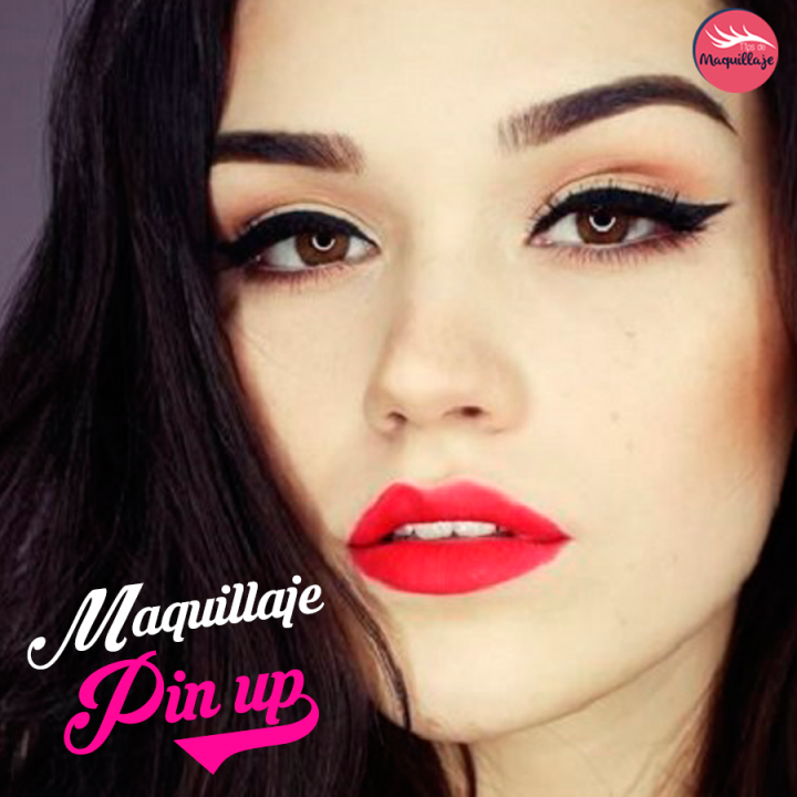 Tutorial de maquillaje pin up