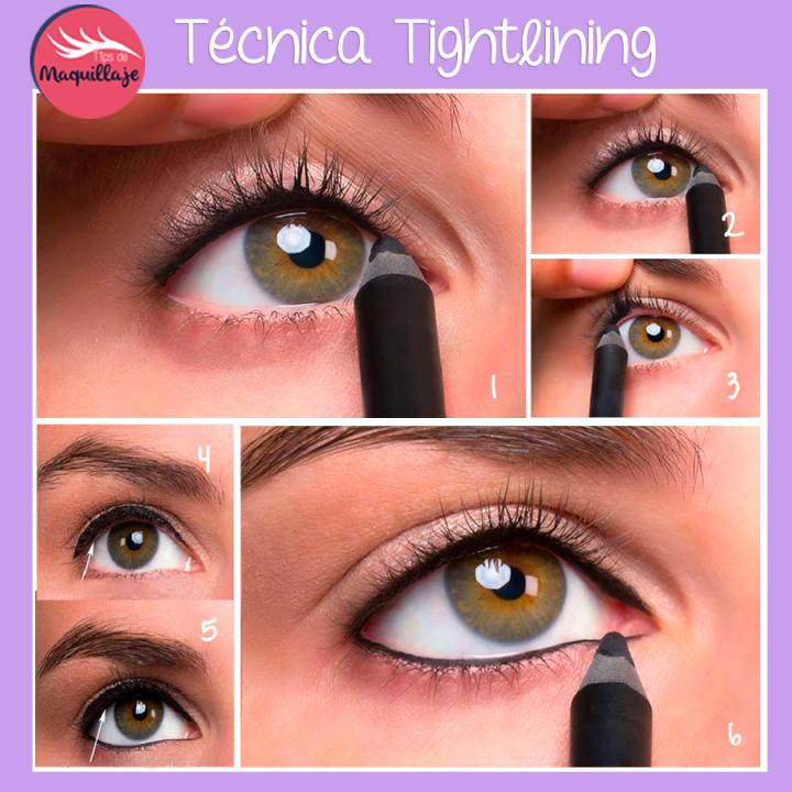 Cómo hacer el eyeliner invisible
