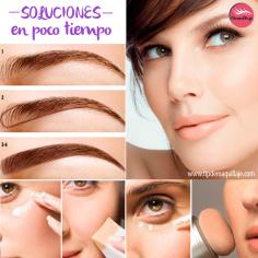 8 Tips para maquillarte en menos de diez minutos