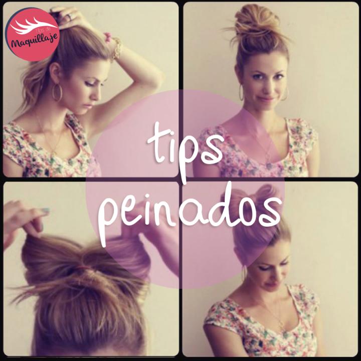 Como hacer peinados recogidos fáciles paso a paso
