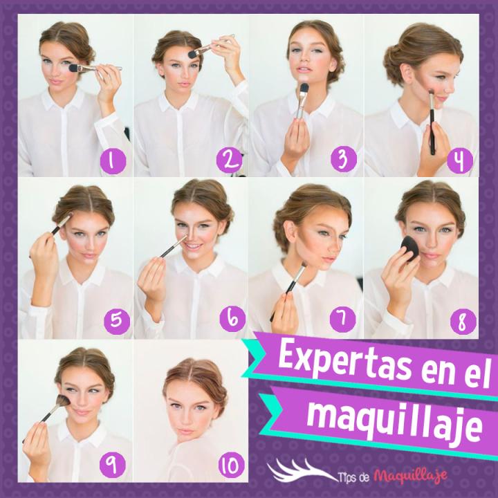 ¡Transforma tu rostro! El mejor tutorial para aprender a contornear