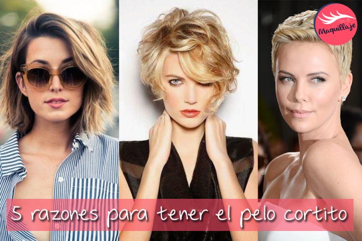 5 razones para tener el pelo cortito